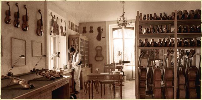 Philippe Girardin Atelier Lutherie